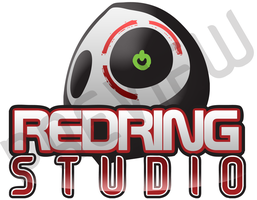 Red Ring Studio Logo by The-Swift-Design