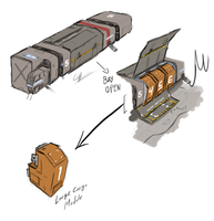 Civilian Cargo Ship by Csp499