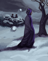 Quirrell by upsidedownhat