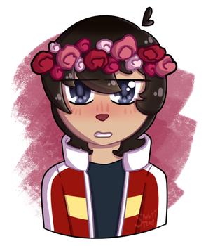 Keith w/ A Flowercrown Bc Why Not by AviDoodles