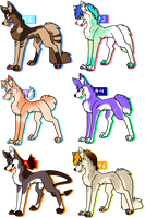 Sassy Canines! OPEN by xMerchant