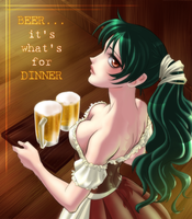 Beer...its what's for dinner by jbramx2