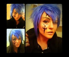 Jellal Fernandez Make-up by ChidoriLove89