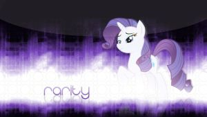 Rarity Wallpaper by Cr4zyPPL