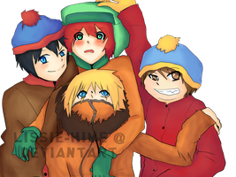 South Park Kids by Lissie-Hime