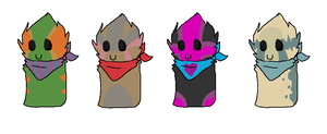 Scarfblob Adopts by iluvwolfies