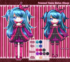 AUCTION: Poison Mahou Shoujo[CLOSED] by sakuraGx4nina