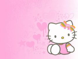 Hello Kitty Wallpaper by CailynDizon