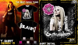 Avril Tshirt contest submit 5 by C0G-Graph1x
