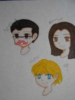 My 3 favorite Youtubers by SapphireAngelBunny