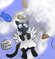 All Kitties go to heaven by Rayodragon