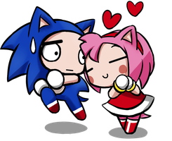 AMY LOVE SONIC by GaruGiroSonicShadow