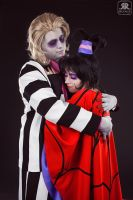 Lydia and Beetlejuice by Ryoko-demon