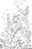 WONDERLAND33# pencil by Vinz-el-Tabanas