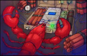 Lobster by chikinnugets