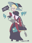 Witchsona: Wicked Computer Wizard by Xiemm