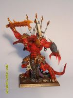 Daemon Prince of Khorne by Taelonar