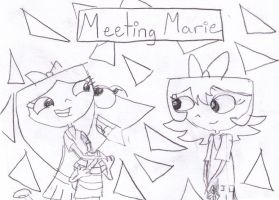 Phineas and Isabella meet Marie by hannahml