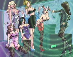 COMMISSION: Hypno Bunnies by Shono