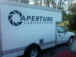 Aperture Laboratories Truck by ChrisInVT