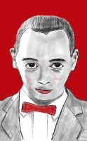 Pee Wee Herman - Freehand Sketch Practice #2 by wrongpixel