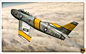 F-86 Sabre by rOEN911