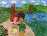 Ginger and Darren in San Francisco by Toongrrl
