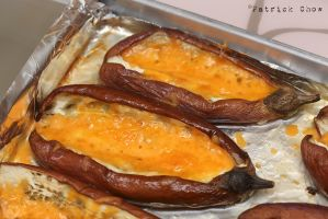 Stuffed eggplants by patchow