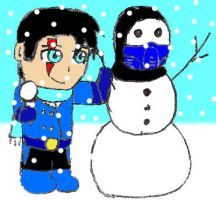 Subby's Snowman by 2ndCityCrusader