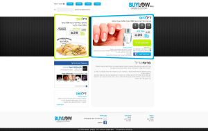 Coupon site design by MissNasuta