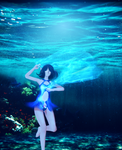 Dance under water by ArisuIdzuri