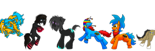 Our Little Ponies Collab by KoopaKrazy85