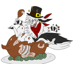 Thanksgiving fax by DrPrintsy