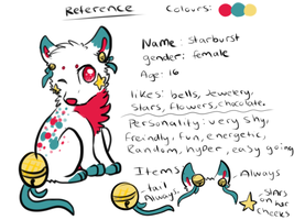 Starburst Reference Sheet by P0CKYY