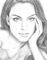 Natalie Portman sketch by funksoulfather