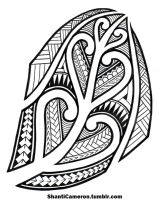 Maori Inspired Tribal by ShantiCameron