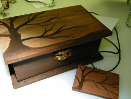 Tree Box and Pendant by seiyalover
