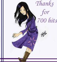 Thanks for 700 hits by BladeOfLoki