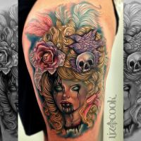 Tattoos  by LizCookTattoo