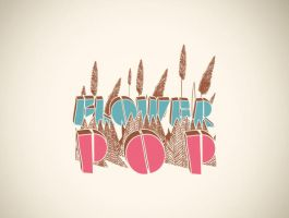 'Flower Pop' Logo by BayuWiranagara