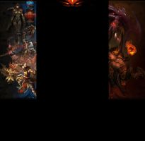 Diablo 3 youtube background by duduOmag