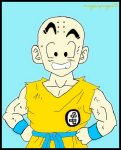 Krilin Dragon Ball Z  2 by minguinpingu05