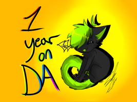 ONE YEAR by xXWildTailXx