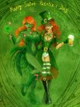 Shamrock and PoisonIvy - St.Patricks Day style by Lucithea