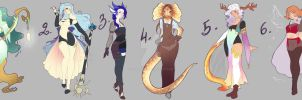 Pleiads - Character Creation Contest - Results by rika-dono
