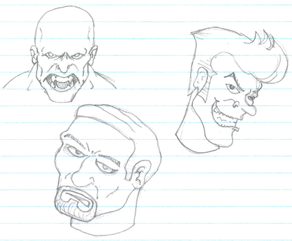 Practicing Faces by SpidermanGeek