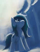 Looking up by Raikoh-illust