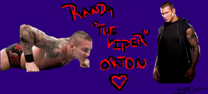 """Randy """"The Viper""""Orton by Taylorcaine95"""
