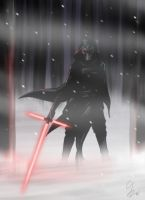 Kylo Ren by Huang-Jun