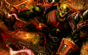 WoW - Orc Attack by Cassangel